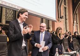 Elections 2018 - Les conseillers communaux et le collège ont prêté serment à Gand