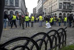 Des peines d'un ou deux ans requises pour des troubles lors des actions des Gilets jaunes à Bruxelles