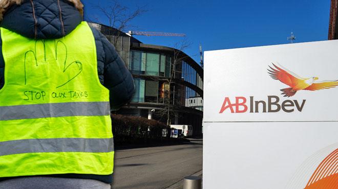 Des gilets jaunes prévoient une action sur le site d'AB Inbev à Louvain