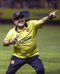 Diego Maradona hospitalisé à la suite d'une hémorragie gastrique