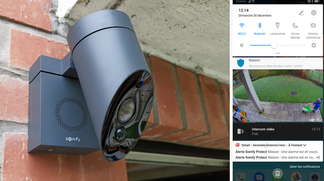 Les tests de Mathieu: cette caméra de sécurité extérieure est équipée d'une sirène, est-ce la bonne solution ?