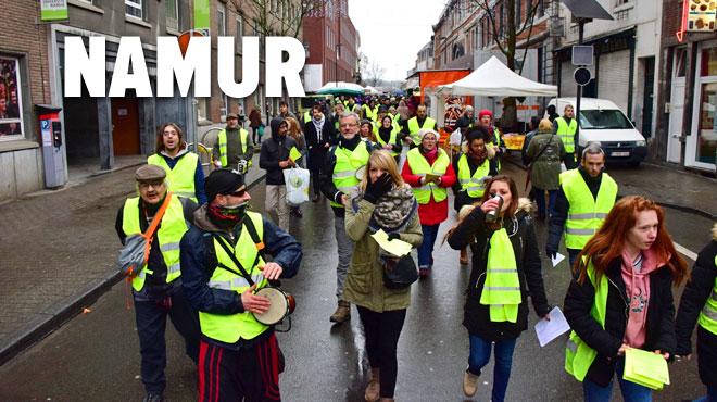 Liège, Namur, Bruxelles: les gilets jaunes manifestent dans plusieurs grandes villes de Belgique