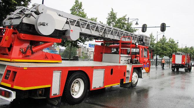 Appelés pour un incendie, les pompiers bruxellois ne s'attendaient pas à ce qu'ils allaient trouver