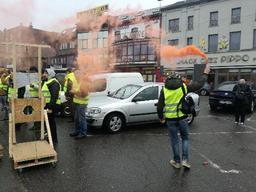 Gilets jaunes - Nouvelle mobilisation à Charleroi
