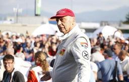Niki Lauda de retour en soins intensifs à cause d'une grippe