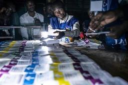 La Céni n'annonce aucune date pour la publication des résultats de l'élection présidentielle en RDC