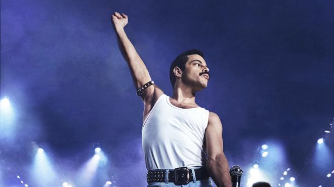 Golden Globes 2019: Rami Malek qui interprète Freddie Mercury dans le film