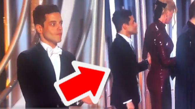 Golden Globes: quand Nicole Kidman met un VENT à l'acteur Rami Malek (vidéo)
