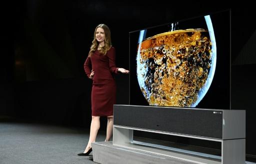 LG dévoile à Las Vegas une télé entièrement enroulable