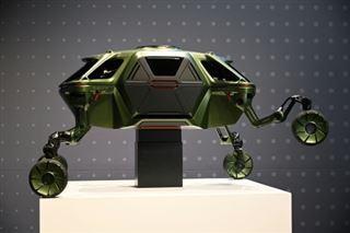 Hyundai dévoile à Las Vegas un concept-car qui rampe et qui marche