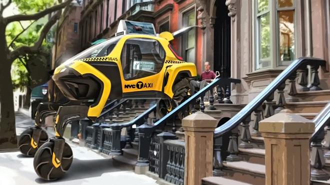 Et si les voitures du futur étaient capables de marcher et ramper? Voici le concept dévoilé à Las Vegas