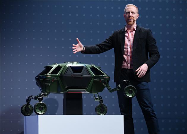 Prototypes et concepts CES 2019 - Hyundai Elevate : la voiture qui marche