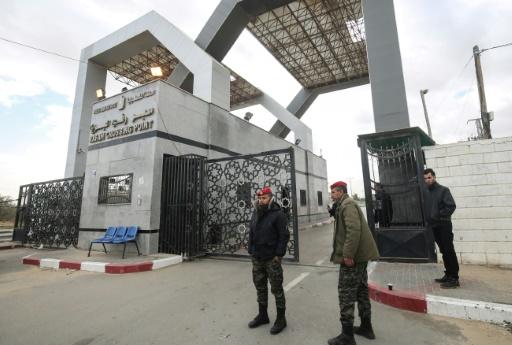 La frontière de Gaza fermée en direction de l'Egypte
