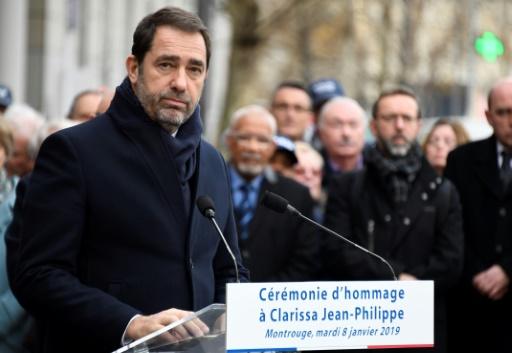 Hommage à la policière municipale Clarissa Jean-Philippe, un