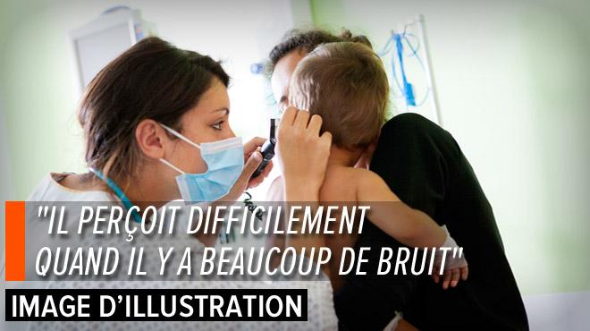 Devenu sourd après une méningite, Isaac, un petit Bruxellois entend via des implants cochléaires: