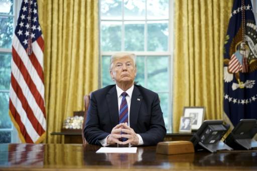Trump, dernier président en date à s'adresser à la nation depuis le Bureau ovale