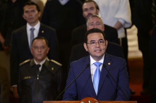 Le président du Guatemala se débarrasse d'une mission anticorruption de l'ONU trop curieuse