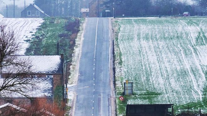 Météo: un peu de neige en Haute Ardenne, il pourra geler la nuit prochaine en Wallonie