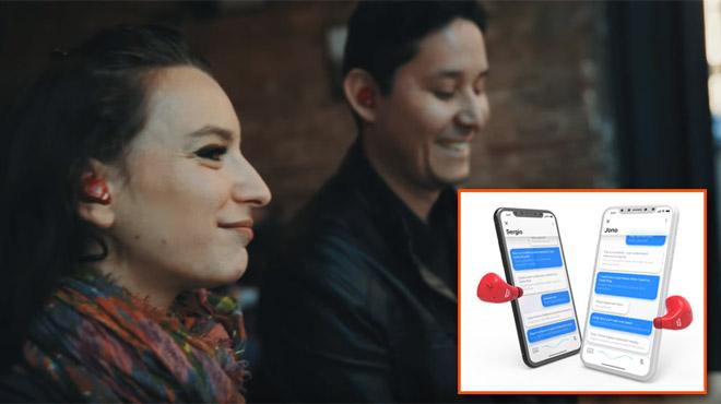 Deux personnes ne parlant pas du tout la même langue peuvent dialoguer en direct grâce à ces écouteurs (vidéo)