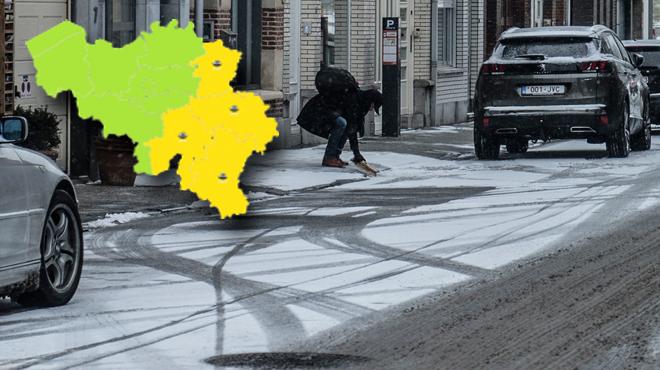 Plaques de glace attendues cette nuit sur les routes: voici les provinces wallonnes concernées