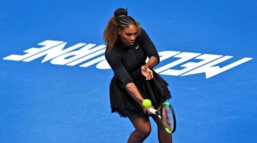 Open d'Australie - Halep tête de série N.1 chez les dames, Serena Williams N.16