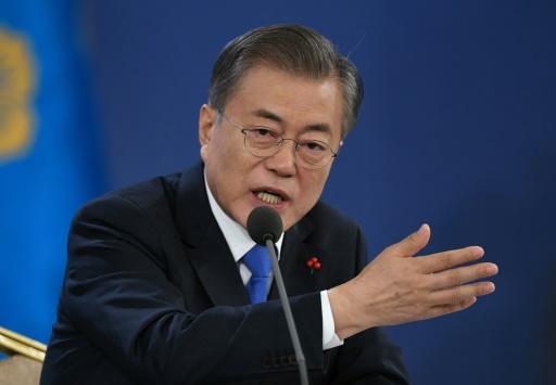 Corée du Sud: Moon appelle Tokyo à davantage d'humilité face à l'Histoire