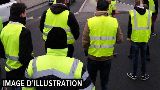 Gilets jaunes dans le Hainaut: le rassemblement de plus de 5 personnes interdit aux postes-frontières