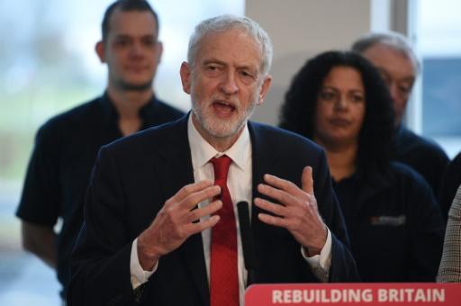 Brexit: le Labour veut des élections législatives pour