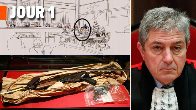 Procès Nemmouche: l'audience reprend vendredi matin, revivez la première journée du procès