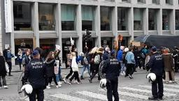3.000 élèves descendent dans les rues de Bruxelles pour le climat