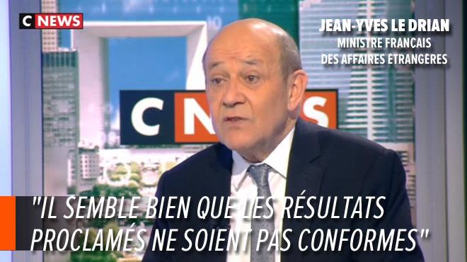 La France conteste les résultats de la présidentielle en RDC