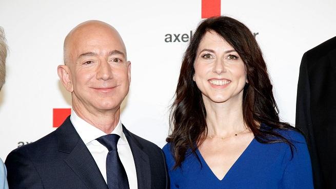 Le divorce le plus CHER de l'Histoire: le patron d'Amazon, Jeff Bezos, et sa femme se séparent après 25 ans de vie commune et 4 enfants