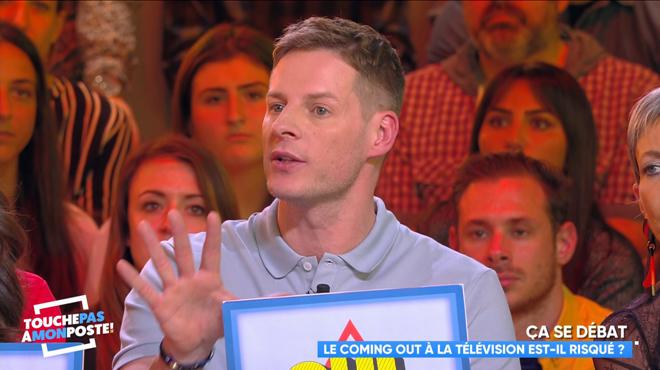 Victime d'homophobie, Matthieu Delormeau vit