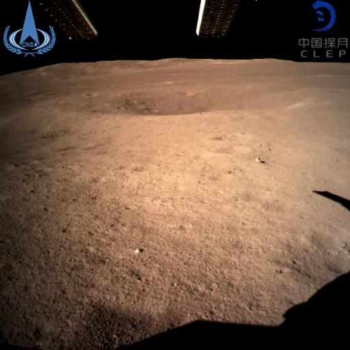 Face cachée de la Lune: le robot chinois face au défi des cratères
