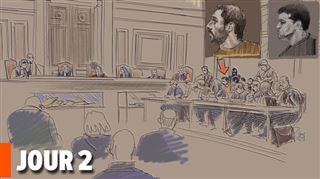 Revivez la 2e journée du procès Nemmouche- les armes retrouvées en possession de Mehdi Nemmouche sont les armes du crime