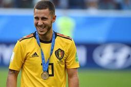 Les Belges à l'étranger - Eden Hazard dans l'équipe UEFA de l'année