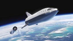 Elon Musk exhibe un prototype de sa prochaine fusée, avec une peau en acier