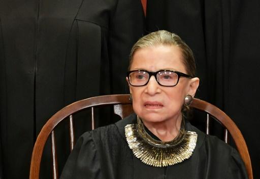 La doyenne de la Cour suprême américaine,
