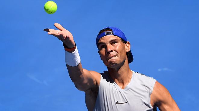 Rafael Nadal suprend avant l'Open d'Australie: l'Espagnol va dégaîner un nouveau... service