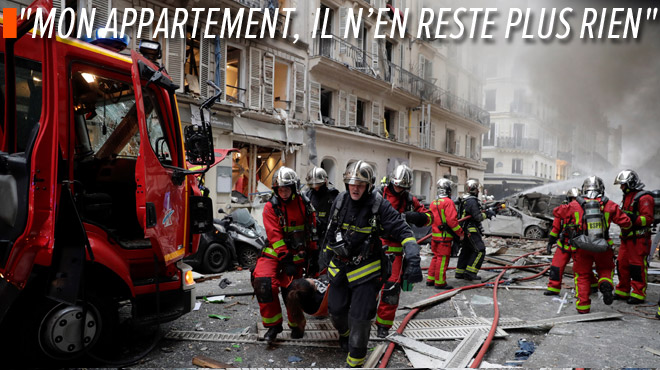 Forte explosion dans le centre de Paris: deux pompiers décédés et de nombreux blessés
