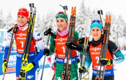 Biathlon: Chevalier abonnée au podium, doublé de Vittozzi à Oberhof