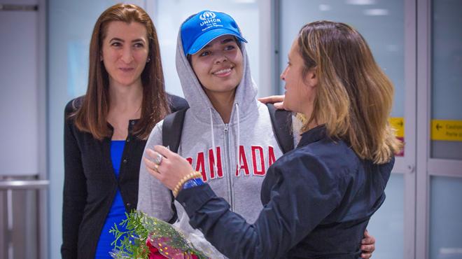 Persécutée par sa famille, la jeune Saoudienne Rahaf Mohammed est arrivée au Canada: elle va y commencer sa nouvelle vie (photos)