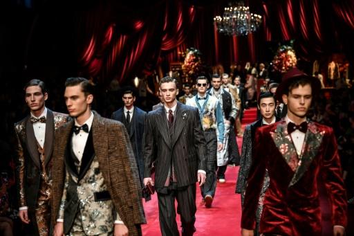 Mode à Milan : élégance et strass pour Dolce & Gabbana