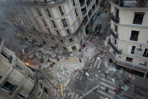 Explosion à Paris: une personne toujours portée disparue