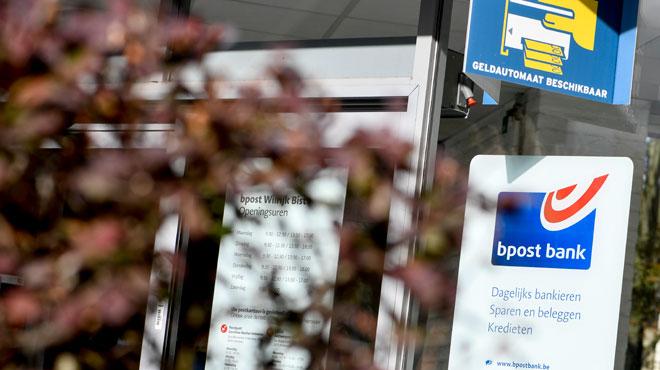 Nouvelle tentative d'explosion sur un distributeur de billetsbpost en Flandre