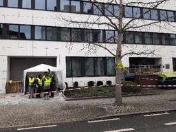 Gilets jaunes - Des gilets jaunes bloquent un bureau de perception du SPW à Namur