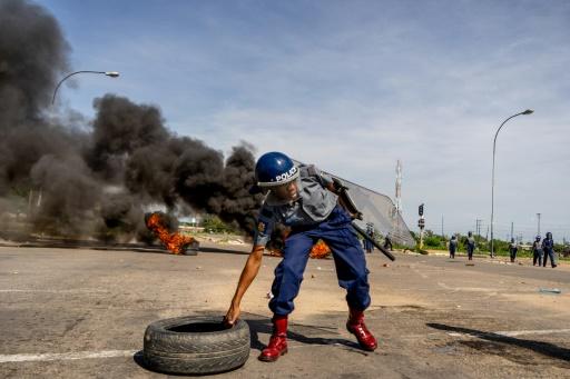 Zimbabwe: les rues d'Harare désertes au lendemain de manifestations meurtrières