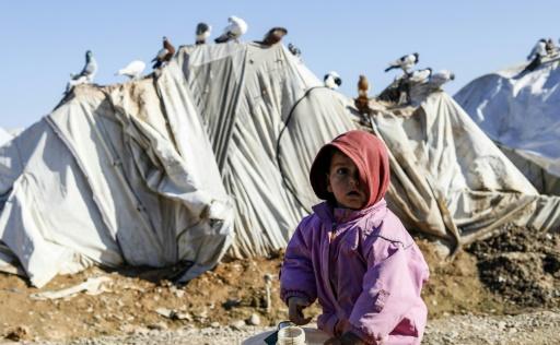En Syrie, 15 enfants déplacés sont morts en raison du froid: