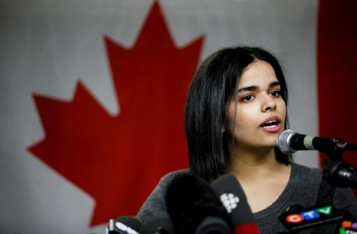 La Saoudienne réfugiée au Canada veut oeuvrer à la libération des femmes