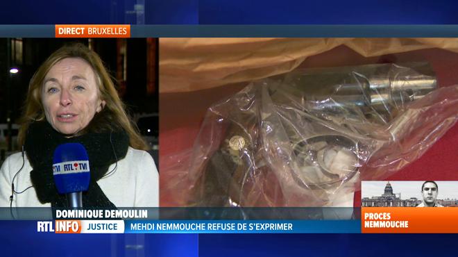 Procès Nemmouche: l'accusé prend la parole pour clamer son innocence... puis se tait
